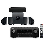 Denon AVR-X2600H Noir + Focal Pack Cinema+