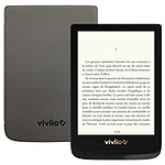 Vivlio Touch Lux 4 Noir + Pack d'eBooks OFFERT + Housse Grise