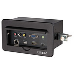 Lindy Switch Encastrable Multi AV vers HDMI (4 ports)