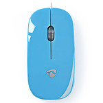 Nedis Wired Optical Mouse Azul
