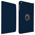 """Akashi Etui Folio iPad 10.2"""" Bleu"""