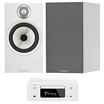 Denon CEOL N10 Blanc + B&W 606 Blanc