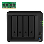 Synology DiskStation DS918+ + 4 Go de RAM (D3NS1866L-4G)