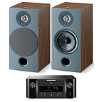 Marantz Melody X M-CR612 Noir + Focal Chora 806 Dark Wood