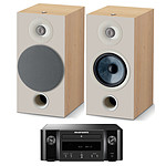 Marantz Melody M-CR412 Noir + Focal Chora 806 Light Wood