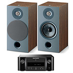 Marantz Melody M-CR412 Noir + Focal Chora 806 Dark Wood