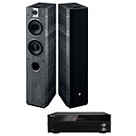 Sherwood RX-4508 + Focal Chorus 716 Black Ash