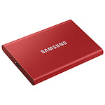 Samsung Portable SSD T7 2 To Rouge