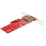 StarTech.com Carte contrôleur PCI Express 3.0 x4 vers SSD NVMe M.2 PCIe