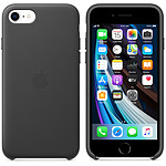 Apple Coque en cuir Noir Apple iPhone SE