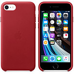 Apple Coque en cuir (PRODUCT)RED Apple iPhone SE