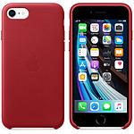 Funda de piel Apple (PRODUCT)RED Apple iPhone SE