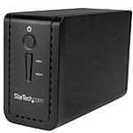 """StarTech.com Boîtier USB 3.1 pour 2 disques durs SATA de 3,5"""" (6 Gb/s) avec RAID JBOD"""