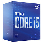 Intel Core i5-10400F (2.9 GHz / 4.3 GHz)