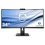 "Monitor Philips 34"" LED - 346P1CRH/00"