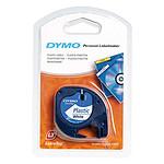 DYMO Ruban Blanc 12 mm pour Dymo LetraTAG - 4m
