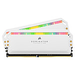 Corsair Dominator Platinum RGB 16 GB (2 x 8 GB) DDR4 4000 MHz CL19 - Blanco