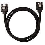 Corsair Câble SATA gainé Premium 60 cm (coloris noir)