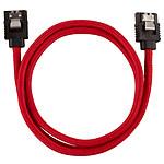 Corsair Câble SATA gainé Premium 60 cm (coloris rouge)