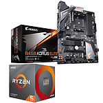 Kit Upgrade PC AMD Ryzen 5 3600 Gigabyte B450 AORUS ELITE