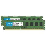 Crucial DDR4 64 GB (2 x 32 GB) 2666 MHz CL19 DR X8