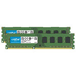 Crucial DDR4 64 Go (2 x 32 Go) 2666 MHz CL19 DR X8