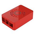 Boitier pour Raspberry Pi 4 Model B avec bouton d'alimentation (Rouge)