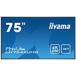 "iiyama 74.5"" LED - ProLite LH7542UHS-B1"