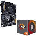 Kit Upgrade PC AMD Ryzen 5 2600X ASUS TUF B450-PRO GAMING