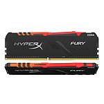 HyperX Fury RGB 64 Go (2 x 32 Go) DDR4 2666 MHz CL16