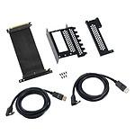 Soporte vertical PCI-e CableMod - 2 x DisplayPort