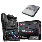 Kit Upgrade PC AMD Ryzen 9 3900 MSI MPG B550 GAMING PLUS