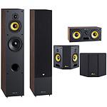 Davis Acoustics Pack Mia 60 5.0 Surround Noyer