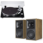 Teac TN-3B Noir + Klipsch The Fives Noyer