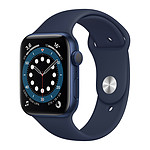 Apple Watch Series 6 GPS Aluminium Blue Bracelet Sport Deep Navy 44 mm