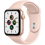 Apple Watch SE GPS Gold Aluminium Bracelet Sport Pink Sand 44 mm