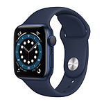 Apple Watch Series 6 GPS Aluminium Blue Bracelet Sport Deep Navy 40 mm