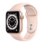 Apple Watch Series 6 GPS Aluminium Gold Bracelet Sport Pink Sand 40 mm
