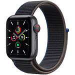 Apple Watch SE GPS + Cellular Space Gray Aluminium Bracelet Sport Charcoal 40 mm