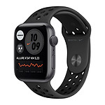 Apple Watch Nike Series 6 GPS Aluminium Space Gray Bracelet Sport Anthracite Black 44 mm