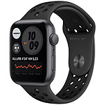 Apple Watch Nike SE GPS Space Gray Aluminium Bracelet Sport Anthracite Black 44 mm