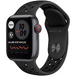 Apple Watch Nike SE GPS + Cellular Space Gray Aluminium Bracelet Sport Anthracite Black 40 mm