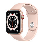 Apple Watch Series 6 GPS + Cellular Aluminium Gold Bracelet Pink Sand 44 mm