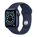 Apple Watch Series 6 GPS + Cellular Aluminium Blue Bracelet Sport Deep Navy 40 mm