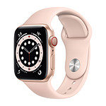 Apple Watch Series 6 GPS + Cellular Aluminium Gold Bracelet Pink Sand 40 mm