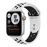 Apple Watch Nike Series 6 GPS + Cellular Aluminium Silver Bracelet Sport Pure Platinum 44 mm