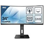 """AOC 34"""" LED - CU34P2A"""