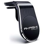 Akashi Support Aimanté 3 Plaques 360° Noir