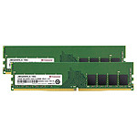 Transcend JetRam 32 Go (2 x 16 Go) DDR4 3200 MHz CL22 1Rx8