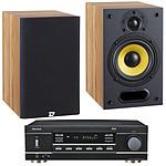 Sherwood RX-4109 + Davis Acoustics Mia 20 Frêne clair